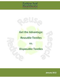 Reusable Textiles versus Disposable Textiles by Janice Henry, Vice President of Marketing at Superior Uniform Group