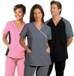 Healthcare Scrubs - Side Flex Tunic, Cross-Over Tunic & Unisex Scrub